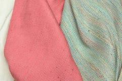 Silk Gewebe Stockbild