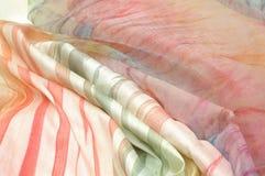 Silk Gewebe Stockfotos