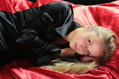 Silk girl Stock Images