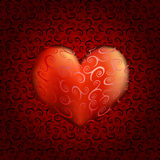 Silk heart Royalty Free Stock Photography