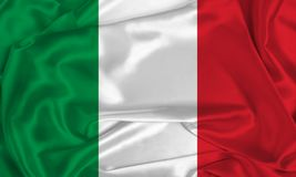 Free Silk Italy Flag Stock Images - 167018764