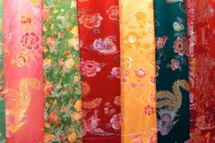 Silk Kleidung Stockfoto