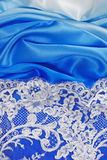 Silk lace texture Stock Photography