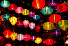 Silk lanterns Royalty Free Stock Photography