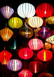 Silk lanterns Royalty Free Stock Photo