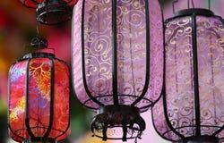 Silk lanterns Royalty Free Stock Photography