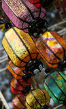 Silk lanterns Royalty Free Stock Images