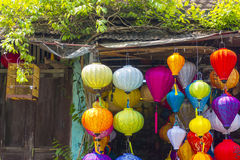 Silk Lanterns Hoi An Vietnam Royalty Free Stock Photos