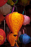 Silk lanterns or lights Stock Photo