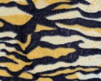 Silk leopard print fabric Stock Photography