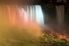 Silk-like Wasserfall Lizenzfreie Stockbilder