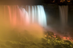 Silk-like waterfall Royalty Free Stock Images