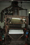 Silk loom Stock Photo