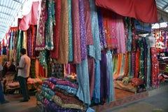 Silk market Royalty Free Stock Photo