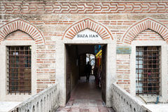 Silk Markt Koza Han in Bursaö die Türkei Lizenzfreie Stockfotografie