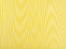 Silk Moire. Beautiful close up of yellow silk moire fabric stock images