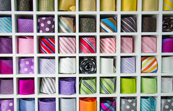 Silk Neckties Stock Photo