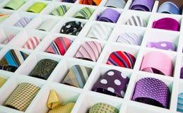 Silk Neckties Royalty Free Stock Photo