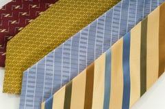 Silk Neckties stock images