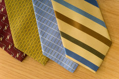 Silk Neckties Stock Image