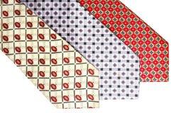 Silk neckties Stock Photography