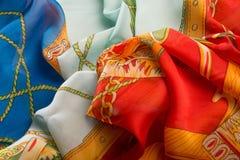 Silk Oberfläche Lizenzfreie Stockbilder