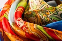 Silk Oberfläche Lizenzfreies Stockfoto