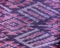 Silk pattern Thai silk fabric seamless knit pattern texture background Royalty Free Stock Photos