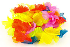 Silk petals Stock Images