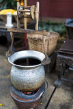 Silk Pot Royalty Free Stock Photography