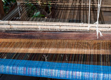 Silk production factory Stock Photography