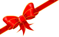 Silk Ribbon Bow Royalty Free Stock Photos