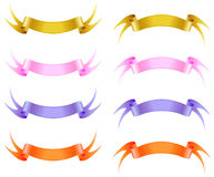 Silk ribbon. Stock Images
