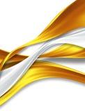 Silk ribbons Royalty Free Stock Images