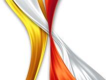 Silk ribbons Stock Image