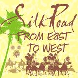 Silk road Royalty Free Stock Photography