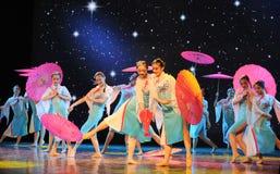 The Silk Road Flower Rain-national dance Royalty Free Stock Photo