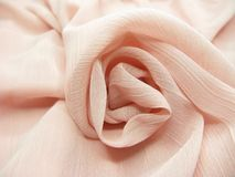 Silk rose shape abstract texture background Stock Photography