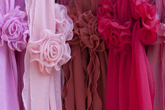 Silk roses Stock Photo