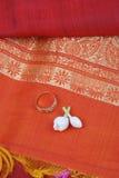 Silk saree royalty free stock images