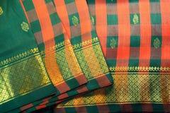 Silk Sari Royalty Free Stock Photo