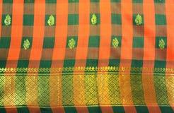 Silk Sari Stock Images