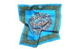 Silk scarf Stock Image