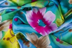 Silk scarf Stock Photo