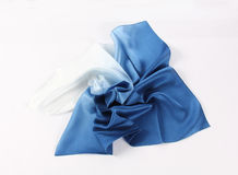 Silk scarf Royalty Free Stock Image
