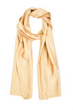 Silk scarf isolated on white background Royalty Free Stock Image