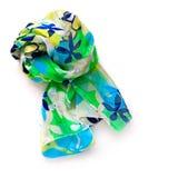 Silk scarf Royaltyfri Fotografi
