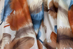Silk scarf Royalty Free Stock Photo