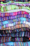 Silk scarves Royalty Free Stock Images