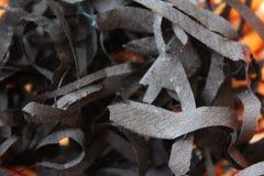Silk. Scraps for textile artist stock photo